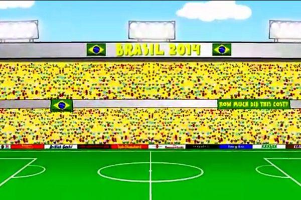 Βραζιλία – Κροατία: Το πέναλτι του Νεϊμάρ σε cartoon (video)