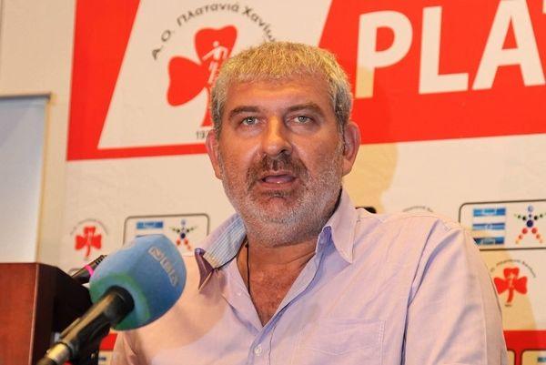 Βαρουξάκης: «Έγκαιρα έτοιμος ο Πλατανιάς»