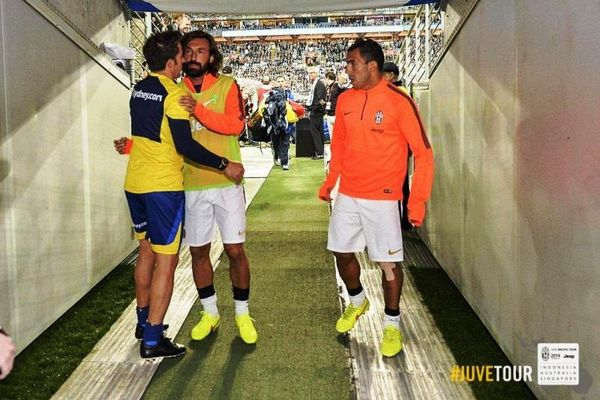 Γιουβέντους: Φιλική επικράτηση επί του... Ντελ Πιέρο (photos)