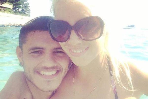Ίντερ: Αθεράπευτα ερωτευμένος με τη Νάρα ο Ικάρντι (photos)