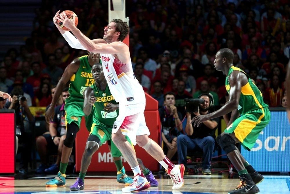 Μουντομπάσκετ 2014: Ισπανία - Σενεγάλη 89-56