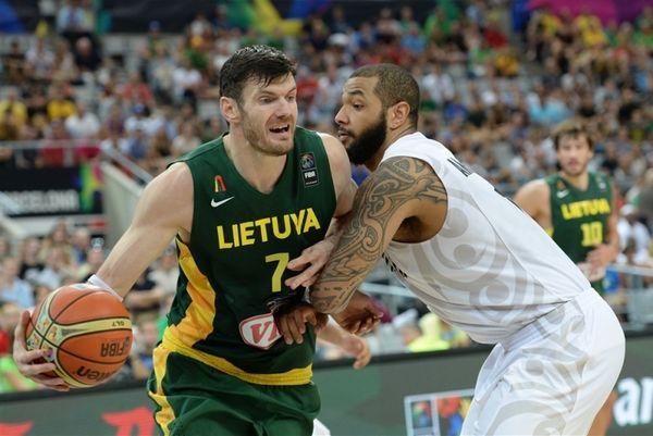 Μουντομπάσκετ 2014: Νέα Ζηλανδία - Λιθουανία 71-76 (photos)
