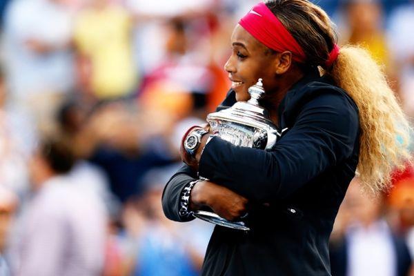 US Open: Το σήκωσε με... ασπρόμαυρο λεοπάρ η Σερένα (photos)