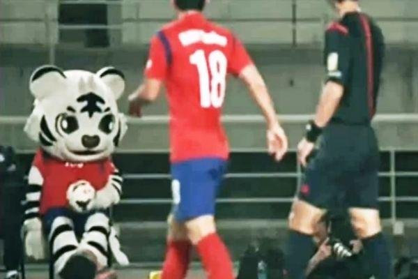 Θύμισε Ριβάλντο η μασκότ της Νοτίου Κορέας (videos)