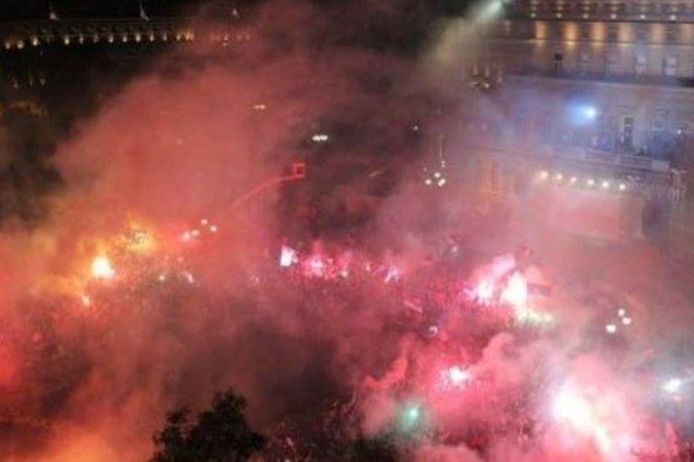 Mundobasket 2014: Απίστευτη υποδοχή στο Βελιγράδι (videos+photos)