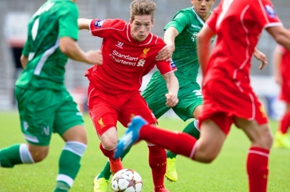 Champions League Νέων: Τεσσάρα για Λίβερπουλ