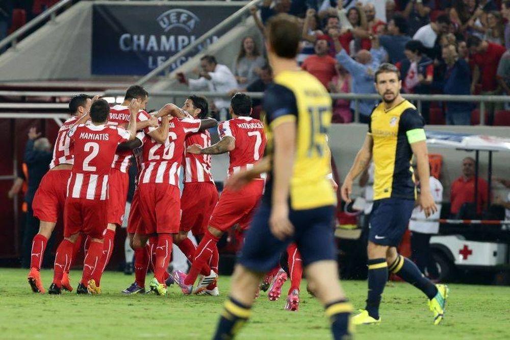 Ολυμπιακός – Ατλέτικο Μαδρίτης 3-2 (video+photos)