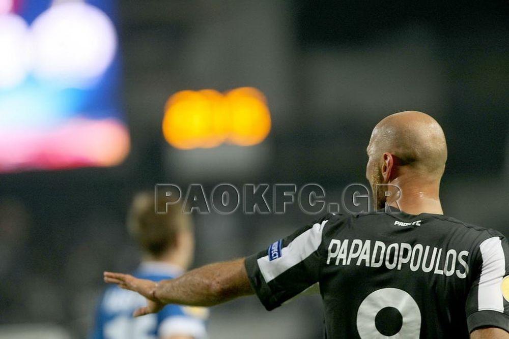 Παπαδόπουλος: «Αγαπημένο μου γήπεδο η Τούμπα»