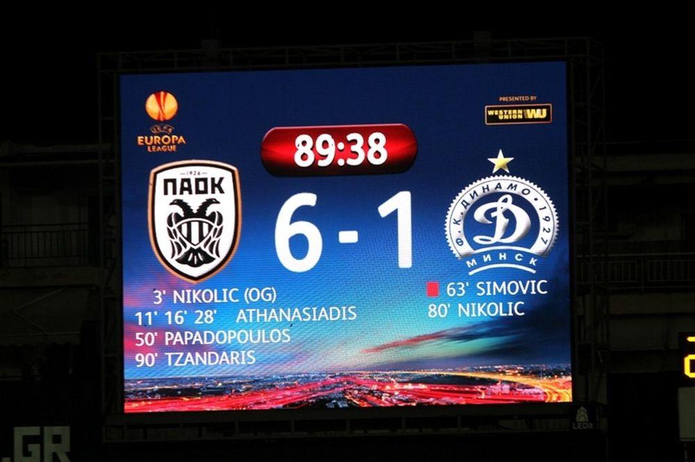 Ντινάμο Μινσκ: Από το... υπέρ της 4-0 στον «διασυρμό» από τον ΠΑΟΚ