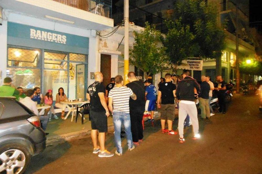 Ιωνικός: Παρουσία παικτών η γιορτή των Rangers