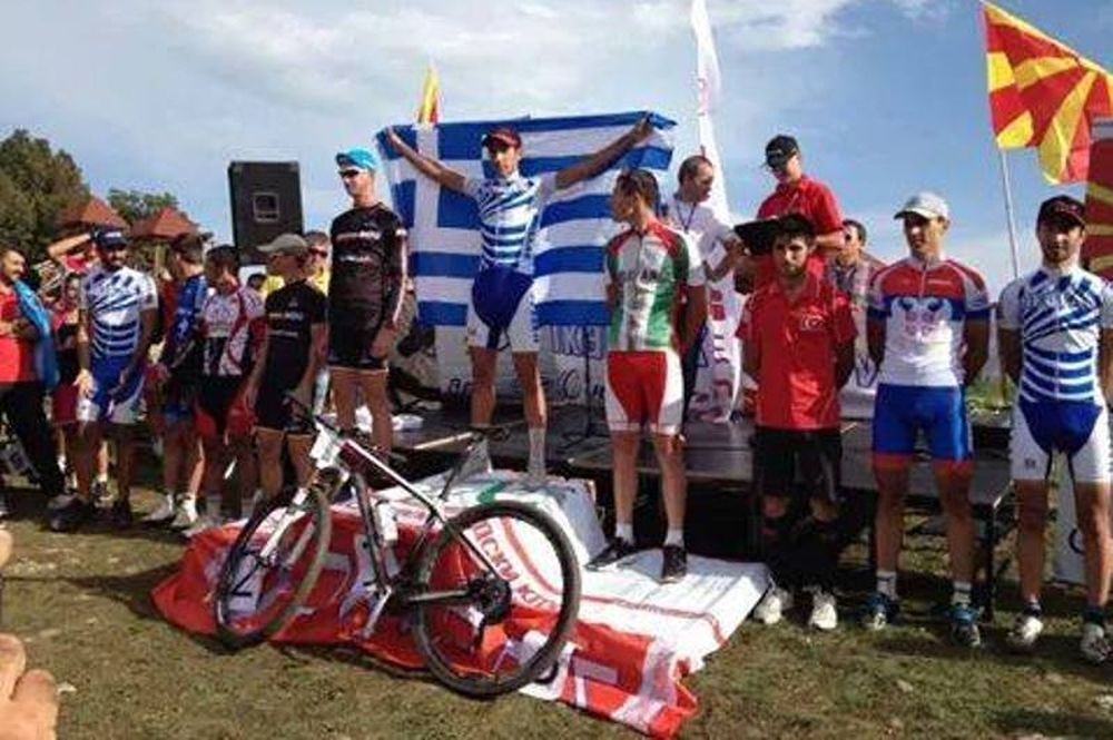 Βαλκανικό Ορεινής Ποδηλασίας: «Χρυσός» ο Αντωνιάδης