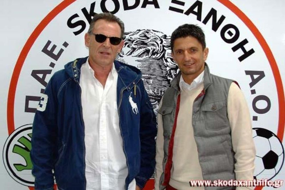 Ξάνθη: Στο «Skoda Xanthi Arena» ο Λουτσέσκου (photos)