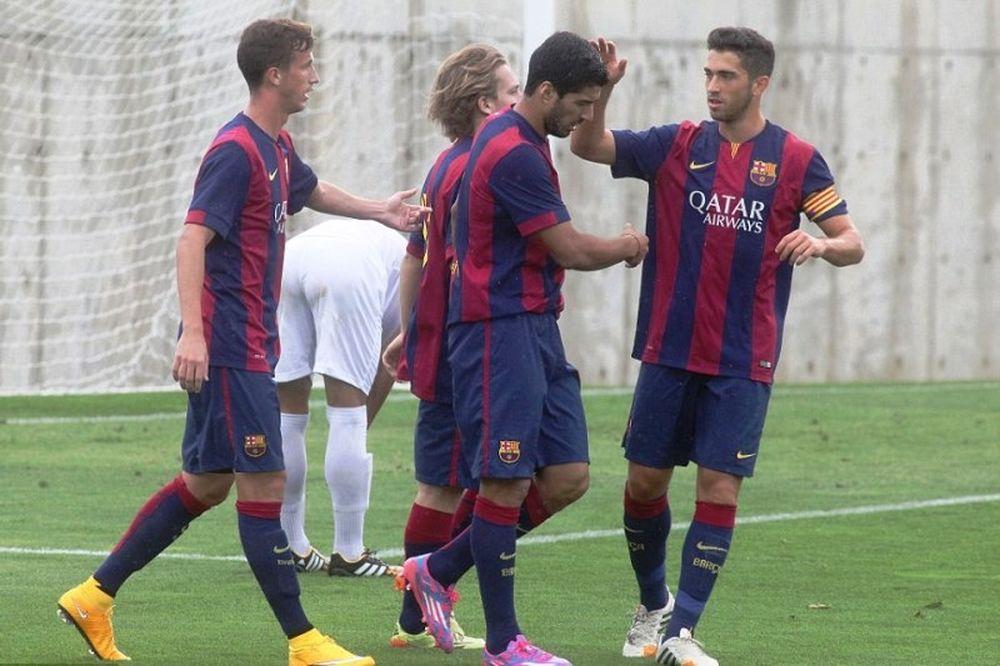Μπαρτσελόνα: Δύο γκολ από Σουάρεζ με τη δεύτερη ομάδα (photos+video)