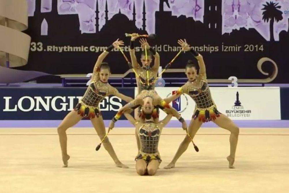 Παγκόσμιο Ρυθμικής Γυμναστικής: Δωδέκατο το ανσάμπλ