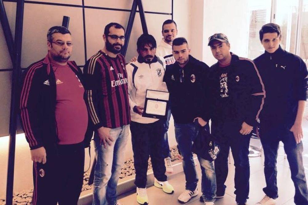 ΟΦΗ: Το Milan Club Salonicco βράβευσε Γκατούζο (photos)