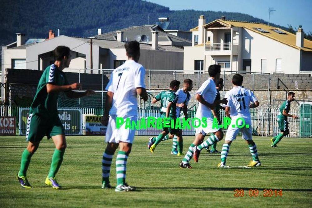 Παναρκαδικός – Παναργειακός 1-0: Το γκολ του αγώνα (video)