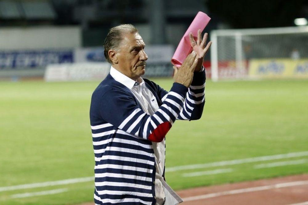Μαντζουράκης: «Καλή δουλειά οι παίκτες μου»