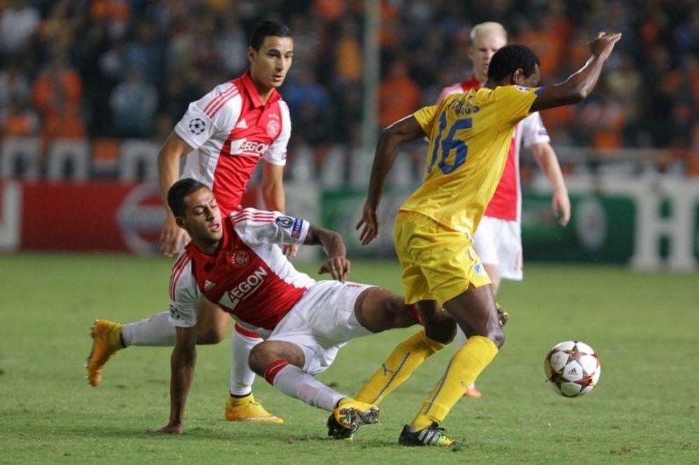ΑΠΟΕΛ – Άγιαξ 1-1: Τα γκολ του αγώνα (video)