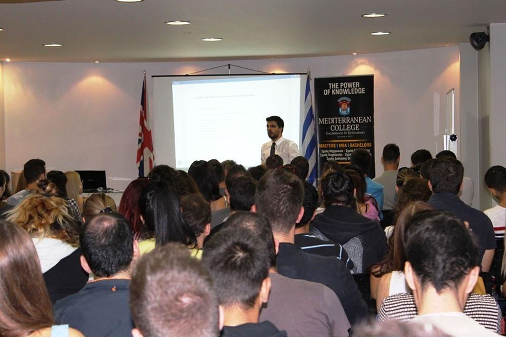 Mediterranean College –Orientation Day 2014