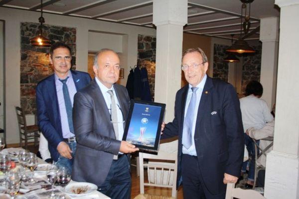 Αστέρας Τρίπολης: Τιμή από UEFA