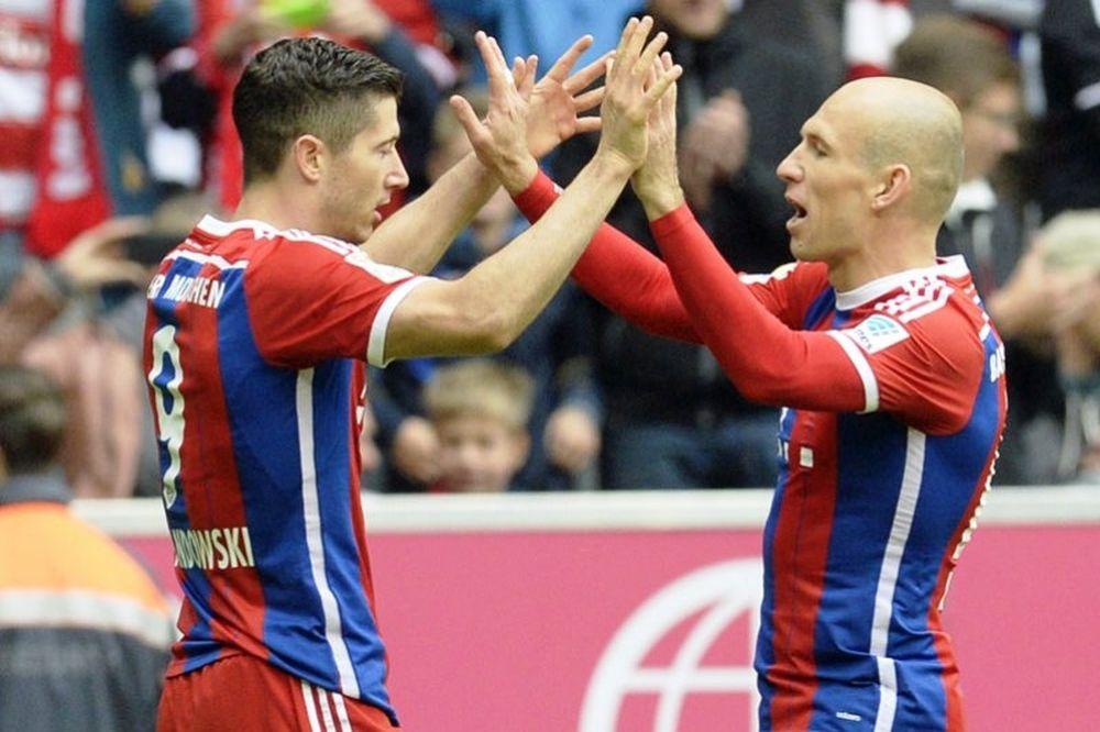 Bundesliga: Ξεφεύγει η Μπάγερν Μονάχου
