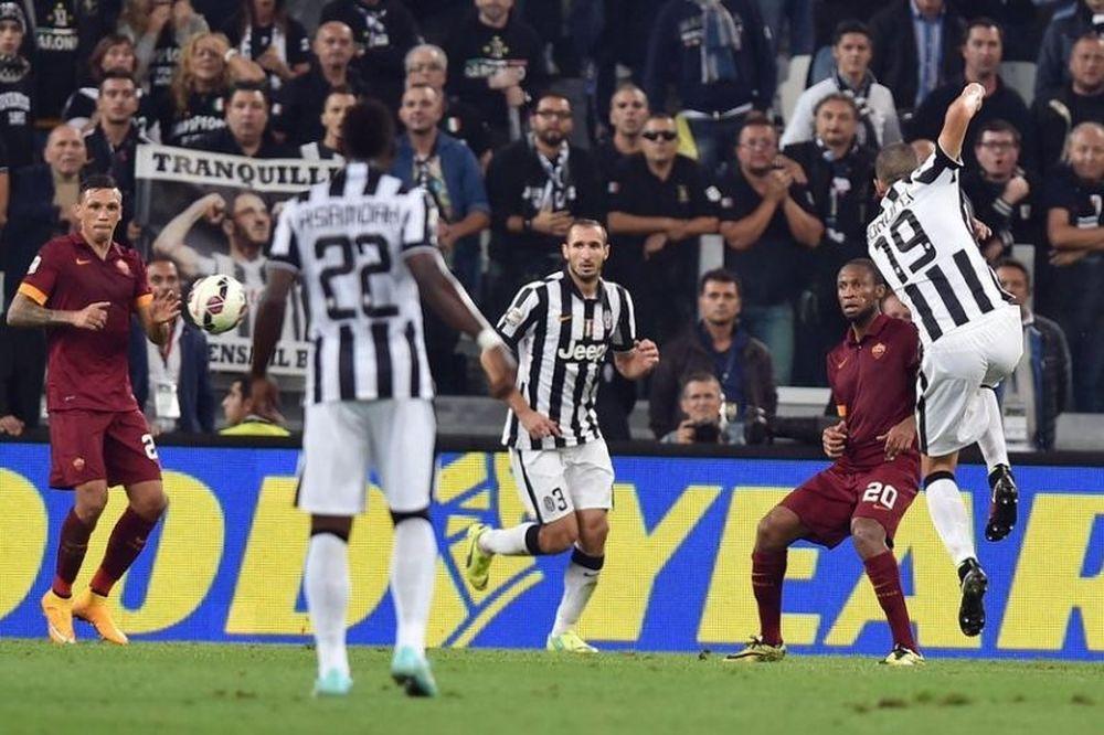 Γιουβέντους – Ρόμα 3-2: Τα γκολ του αγώνα (video)
