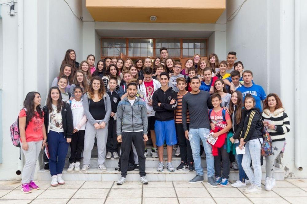 ΠΑΟΚ: Γύρισαν στο σχολείο οι Μαντούρο, Γκολάσα (photos)