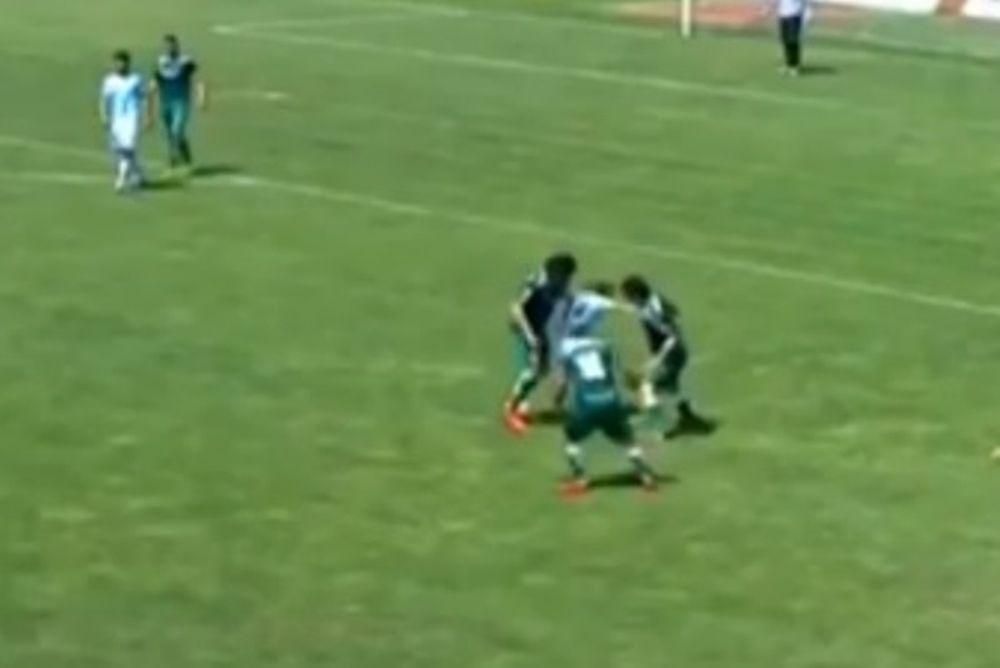 Χιλή: Το πιο... μαχητικό γκολ (video)