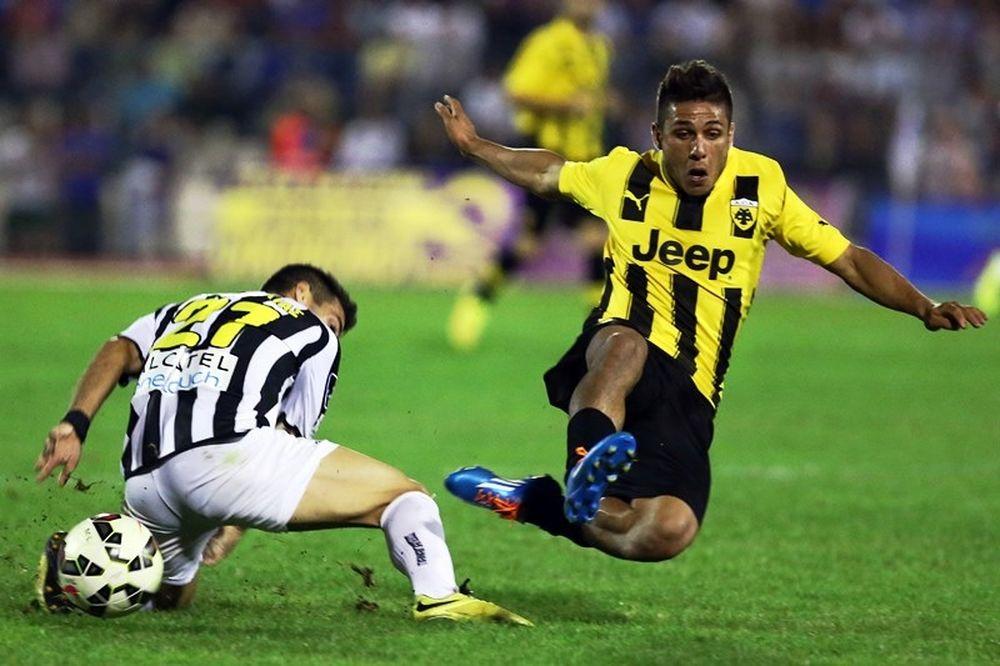 Παναιγιάλειος – ΑΕΚ 0-1: Το γκολ και οι φάσεις του αγώνα (video)
