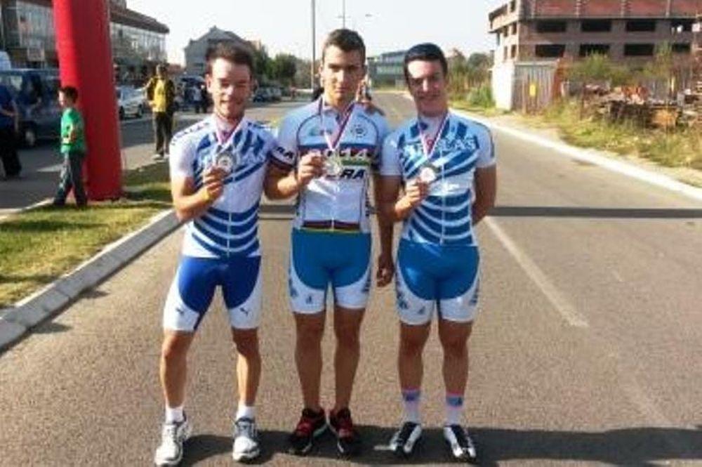 Ποδηλασία: Ελληνικά μετάλλια στο Βαλκανικό (photos)