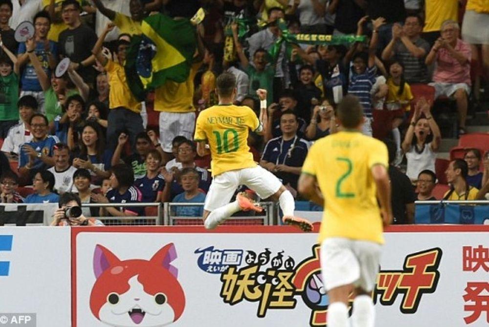 Καρέ Νεϊμάρ,θρίαμβος 4-0 για τη Βραζιλία (video+photos)