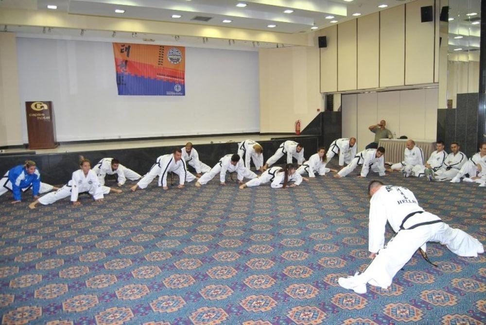 Τάε Κβον Ντο ITF: 135 προπονητές από τη σχολή της Θεσσαλονίκης (photos)