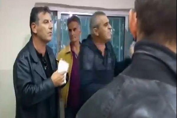 Έντονο επεισόδιο Κουρμπανά με δημοσιογράφο! (video)