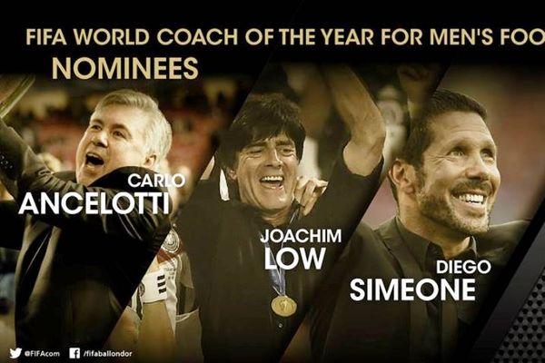 FIFA: Οι τρεις υποψήφιοι τεχνικοί!