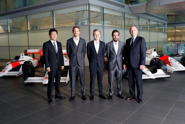 McLaren Honda: Με Μπάτον και Αλόνσο το 2015