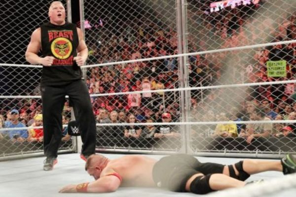 Raw: Στο κλουβί ο Brock Lesnar! (videos+photos)