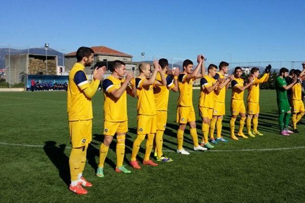 Λεβαδειακός – Αστέρας Τρίπολης 1-1 (Κ20)