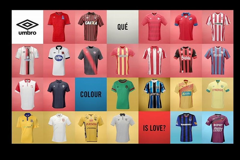 UMBRO «What Colour Is Love?»
