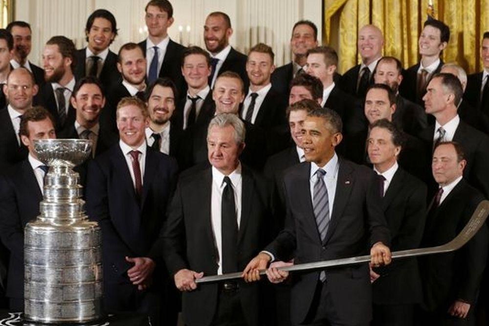 NHL: Τιμήθηκαν οι Κινγκς από τον Obama