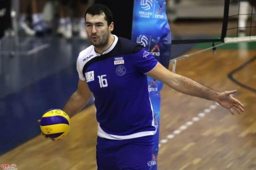 Volleyleague: MVP ο Γιοβάνοβιτς