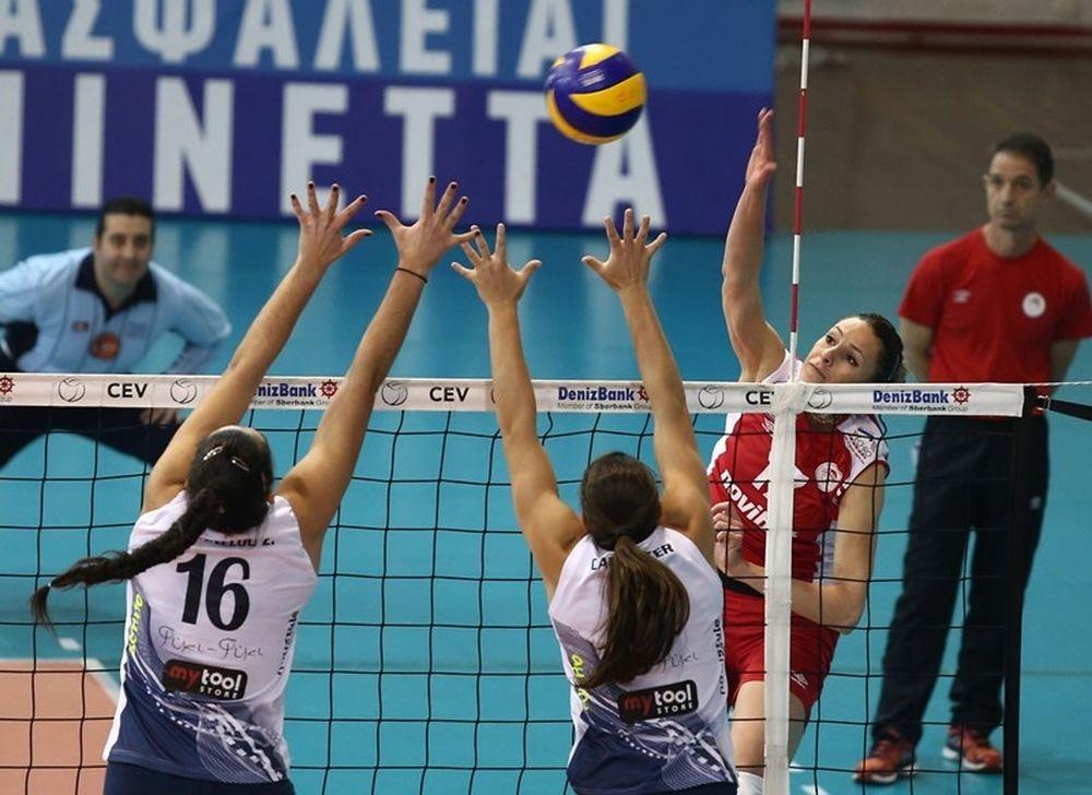 Ολυμπιακός: Μόνα πρώτα τα κορίτσια (photos)