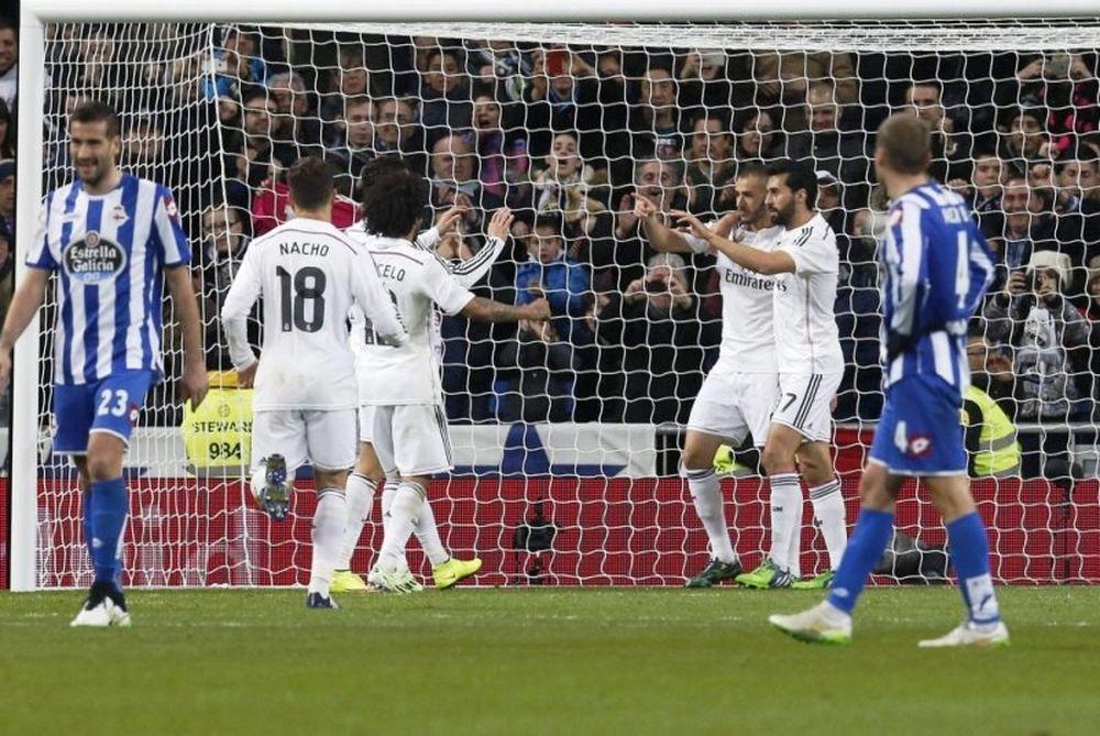 Ρεάλ Μαδρίτης – Λα Κορούνια 2-0 (videos)