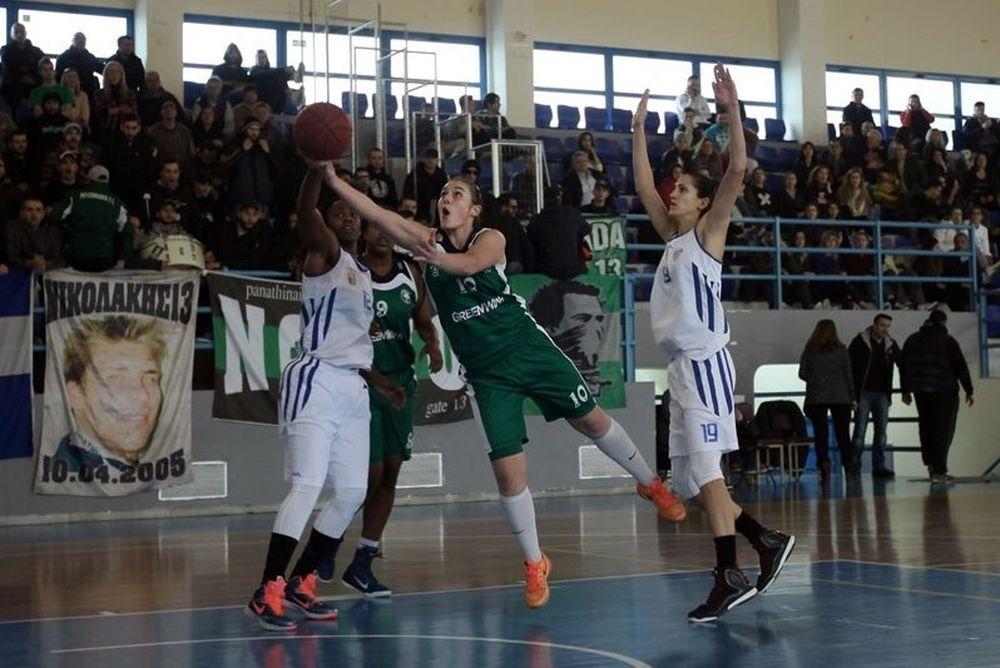 Α1 Μπάσκετ Γυναικών: Προσπέρασμα του Ελληνικού στον Παναθηναϊκό (photos)