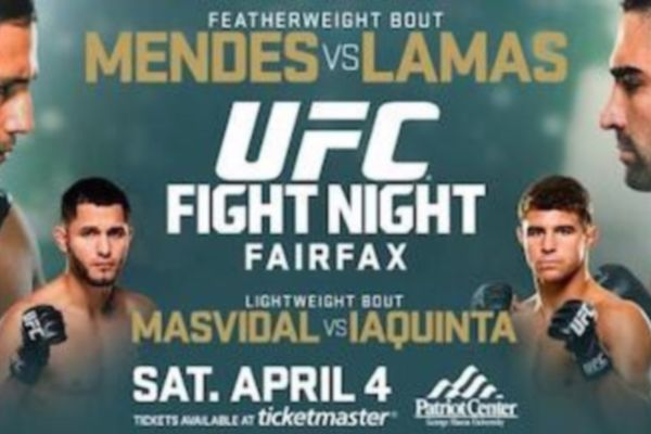 UFC Fight Night 68: Απογευματινό σόου στη Βιρτζίνια