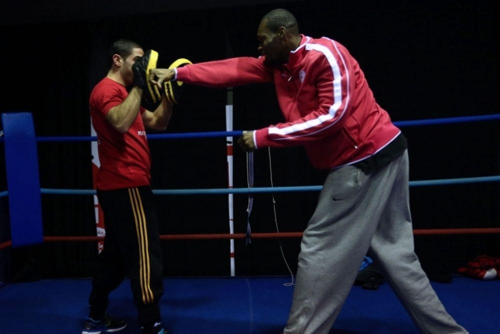 Ολυμπιακός: Έπαιξαν… μπουνιές (photos)