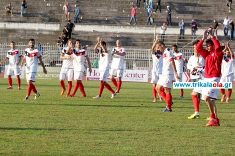 Τρίκαλα-Οικονόμος Τσαριτσάνης 2-0