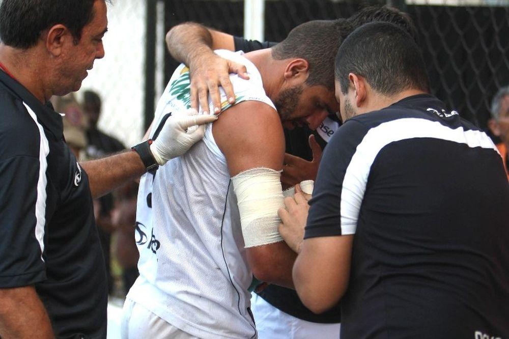 Η επίθεση του σκύλου στον  Ζοάο Πάουλο (video)