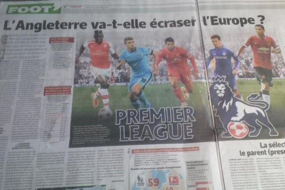 «Equipe» : «Θα συντρίψει την Ευρώπη η Premier League»