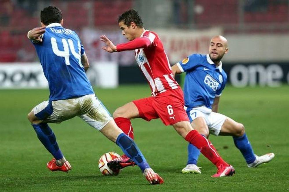 Ολυμπιακός - Ντνίπρο 2-2