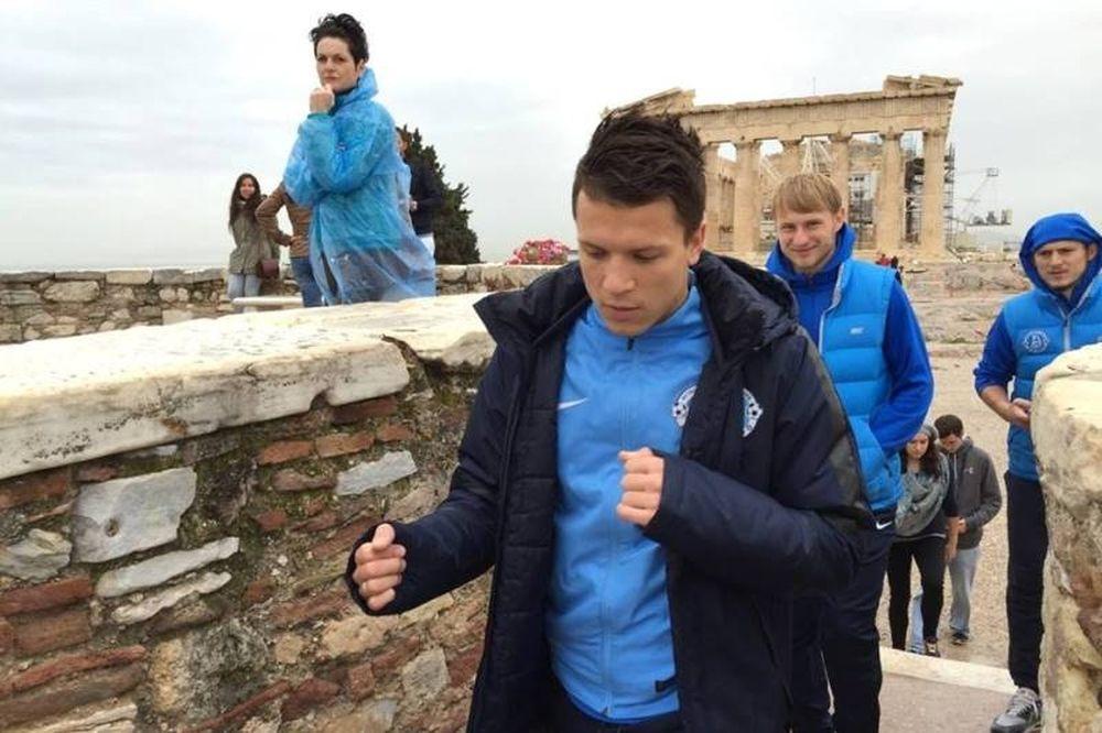 Ντνίπρο: Δεν άφησαν... αξιοθέατο για αξιοθέατο στην Αθήνα (photos)